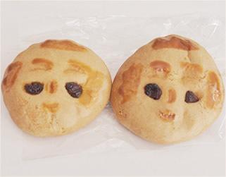 こけし味噌パン