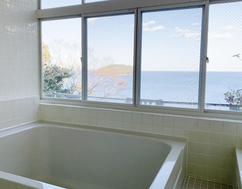 浴場からの海景色