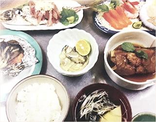 南三陸産のお料理